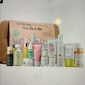 sephora favorites clean skin and hair